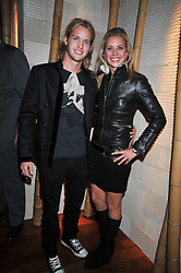 SAM BRANSON and his sister HOLLY BRANSON at the launch of the new Chinawhite at 4 Winsley Street, London on 21st October 2009.