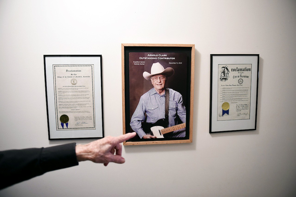 Having a day proclaimed in your name is a big deal for 87-year-old Arnold Clark of Frankfort, Kentucky. A shrine detailing the recognition by Frankfort's mayor and Franklin County executive judge adorns a wall in Clark's home.