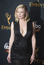 September 18, 2016 - Los Angeles, California, U.S. - KIRSTEN DUNST arrives for the 68th Annual Primetime Emmy Awards, held at the Nokia Theatre. (Credit Image: © Kevin Sullivan via ZUMA Wire)