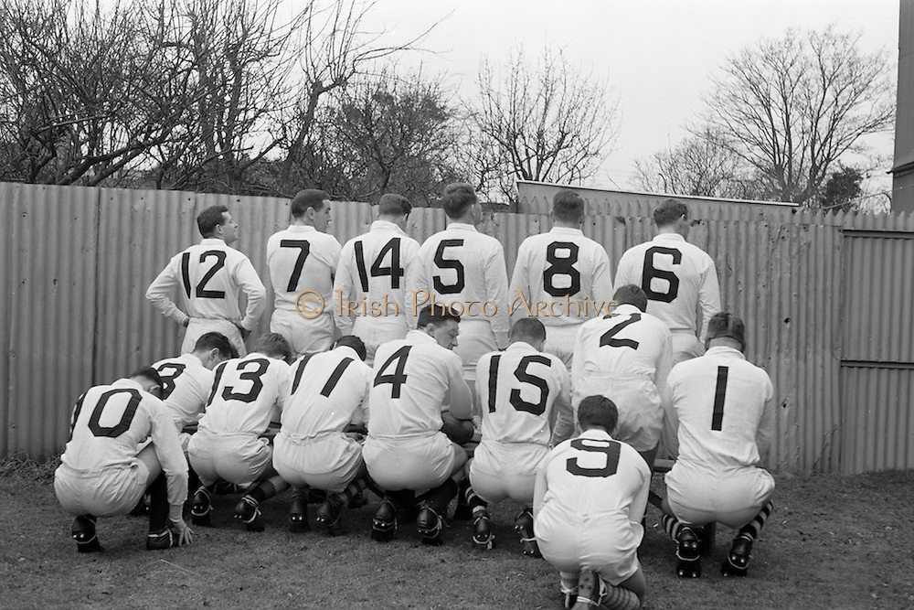 31/1/1962<br /> 1/31/1962<br /> 31 January 1962<br /> International Rugby Trials Blues v Whites