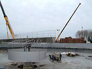 RWZI Dokkum - nieuwbouw 2004