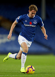 Everton's Kieran Dowell on the ball during the SportPesa Trophy match at Goodison Park, Liverpool. PRESS ASSOCIATION Photo. Picture date: Tuesday November 6, 2018. See PA story SOCCER Everton. Photo credit should read: Richard Sellers/PA Wire