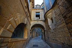 A Street in Sarlat la Caneda, Dordogne, France