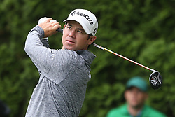 June 23, 2018 - Cromwell, Connecticut, United States - Brian Harman tees off the 9th hole during the third round of the Travelers Championship at TPC River Highlands. (Credit Image: © Debby Wong via ZUMA Wire)