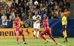 April 28, 2018 - Carson, CA, USA - Carson, CA - Saturday April 28, 2018: The New York Red Bulls defeated the Los Angeles Galaxy 3-2 in a Major League Soccer (MLS) regular season game at StubHub Center. (Credit Image: © Michael Janosz/ISIPhotos via ZUMA Wire)