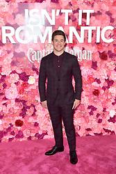 February 11, 2019 - Los Angeles, Kalifornien, USA - Adam Devine bei der Weltpremiere des Kinofilms 'Isn't It Romantic' im Theatre at Ace Hotel. Los Angeles, 11.02.2019 (Credit Image: © Future-Image via ZUMA Press)