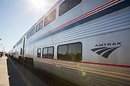 Amtraks tåg som trafikerar rutten som kallas The Empire Builder har två våningar.<br /> <br /> Foto: Christina Sjögren