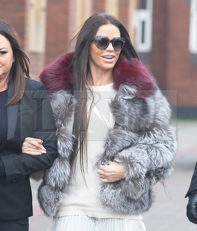 © Licensed to London News Pictures. 07/01/2019. Bromley, UK.Arriving at court. Former glamour model Katie Price appearing at Bromley Magistrates court charged with drink driving following her arrest on 10th October 2018 on Shooters Hill,Road,Woolwich.<br /> Photo credit: Grant Falvey/LNP