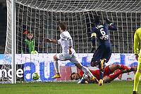 Goal Benjamin Jeannot - 06.12.2014 - Bordeaux / Lorient - 17eme journee de Ligue 1 -<br />Photo : Manuel Blondeau / Icon Sport