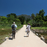 On the way to the entrance of Marojejey National Park