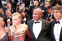 Hiam Abbass, Diane Kruger, Raoul Peck and Alexander Payne  attending the gala screening of Amour at the 65th Cannes Film Festival. Sunday 20th May 2012 in Cannes Film Festival, France.