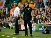 19/08/15 UEFA CHAMPIONS LEAGUE PLAY-OFF 1ST LEG<br /> CELTIC V MALMO<br /> CELTIC PARK - GLASGOW<br /> Celtic manager Ronny Deila.