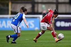 Chloe Logarzo of Bristol City Women - Mandatory by-line: Ryan Hiscott/JMP - 18/10/2020 - FOOTBALL - Twerton Park - Bath, England - Bristol City Women v Birmingham City Women - Barclays FA Women's Super League