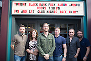 26/6/19 The Black Bank Folks at the launch of their new album Last Star Fall, at Lost Lane, Dublin, available in store and online from June 28th. Picture: Arthur Carron