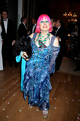 ZANDRA RHODES at the Royal Academy of Art's Summer Ball held at Burlington House, Piccadilly, London on 16th June 2008.<br /><br />NON EXCLUSIVE - WORLD RIGHTS