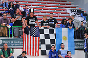 DESCRIZIONE : Campionato 2014/15 Dinamo Banco di Sardegna Sassari - Dolomiti Energia Aquila Trento Playoff Quarti di Finale Gara4<br /> GIOCATORE : Tifosi Aquila Trento<br /> CATEGORIA : Ultras Tifosi Spettatori Pubblico<br /> SQUADRA : Dolomiti Energia Aquila Trento<br /> EVENTO : LegaBasket Serie A Beko 2014/2015 Playoff Quarti di Finale Gara4<br /> GARA : Dinamo Banco di Sardegna Sassari - Dolomiti Energia Aquila Trento Gara4<br /> DATA : 24/05/2015<br /> SPORT : Pallacanestro <br /> AUTORE : Agenzia Ciamillo-Castoria/L.Canu