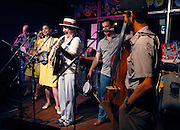 June 07, 2014 - The vintage band, Side Street Steppers, celebrated their five year anniversary recently at Otherlands Coffee House in mid-town. They will also be at the grand opening of Beale Street Landing June 28 at 3 p.m.