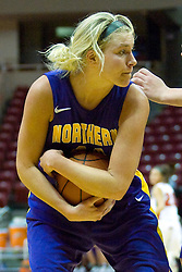 01 January 2011: Erin Brocka  during an NCAA Women's basketball game between the Northern Iowa Panthers and the Illinois State Redbirds at Redbird Arena in Normal Illinois.