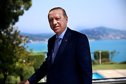 July 4, 2017 - °Stanbul, Türkiye - Turkish President Recep Tayyip  Erdogan shares these pictures from his official Instagram and Facebook social media account today. (Credit Image: © Depo Photos via ZUMA Wire)