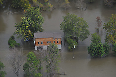 Flooding in MO near Fortescue, MO