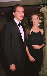 PRINCE NICHOLAS OF GREECE and MISS SOPHIE EGGERMONT, at a ball in London on 8th November 1998.MLP 50