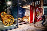 Gouden Koets wordt over Amsterdam Museum getakeld
