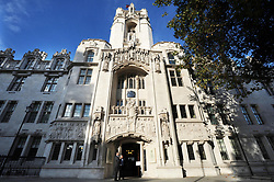 File photo dated 01/10/09 of the Supreme Court building in London, as the court will rule on a legal battle for women from Northern Ireland to receive free abortions on the NHS in England.