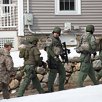 Standoff in East Dedham, 3/7/14