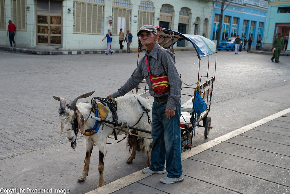 Goat Cart, Sancti Spiritus Cuba 2020 from Santiago to Havana, and in between.  Santiago, Baracoa, Guantanamo, Holguin, Las Tunas, Camaguey, Santi Spiritus, Trinidad, Santa Clara, Cienfuegos, Matanzas, Havana