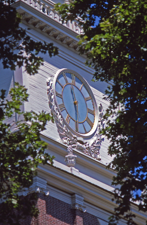 Clock, by Thomas Stretch, Independence Hall, Independence National Historic Park, Philadelphia, PA