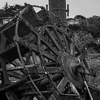 Paddle Wheel ruins in Sausalito of the Van Damme