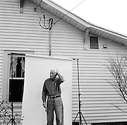 GLASGOW, KY – MARCH, 2009: A day in the life of Walter Earl Kinslow.