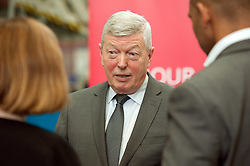 © Licensed to London News Pictures.23/02/2016. Bristol, UK. ALAN JOHNSON MP speaking at Airbus in Filton, Bristol, to launch Labour's campaign to stay in the EU. Photo credit : Simon Chapman/LNP