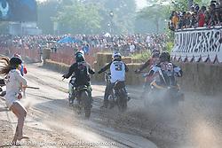 Bradford Beach Brawl, a TROG style beach racing event, during the Harley-Davidson 115th Anniversary Celebration event. Milwaukee, WI. USA. Saturday September 1, 2018. Photography ©2018 Michael Lichter.
