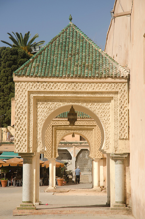 Lahdim square in Meknes medina, Morocco