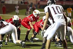 25 September 2010:  Matt Brown under center.  The Missouri State Bears lost to the Illinois State Redbirds 44-41 in double overtime, meeting at Hancock Stadium on the campus of Illinois State University in Normal Illinois.
