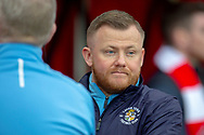 Luton Town masseur and kit man Darren Cook before the EFL Sky Bet League 1 match between Sunderland AFC and Luton Town at the Stadium Of Light, Sunderland, England on 12 January 2019.