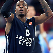 Anadolu Efes's Terence KINSEY during their Two Nations Cup basketball match Anadolu Efes between Panathinaikos at Abdi Ipekci Arena in Istanbul Turkey on Saturday 01 October 2011. Photo by TURKPIX