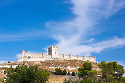 Penafiel Castle in Penafiel, Valladolid Province, Spain