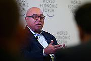 """Richard """"Dick"""" Daniels, Executive Vice-President; Chief Information Officer, Kaiser Permanente, USA during the session: The Future Is Platforms at the World Economic Forum - Annual Meeting of the New Champions in Tianjin, People's Republic of China 2018.Copyright by World Economic Forum / Greg Beadle"""