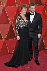Andy Serkis and  Lorraine Ashbourne walking on the red carpet during the 90th Academy Awards ceremony, presented by the Academy of Motion Picture Arts and Sciences, held at the Dolby Theatre in Hollywood, California on March 4, 2018. (Photo by Sthanlee Mirador/Sipa USA)