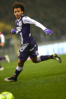 Martin Braithwaite - 28.02.2015 - Toulouse / Saint Etienne - 27eme journee de Ligue 1 -<br />Photo : Manuel Blondeau / Icon Sport