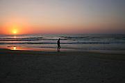 Israel, Mediterranean Sunset