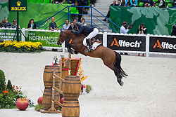 Patrice Delaveau, (FRA), Orient Express HDC - Team & Individual Competition Jumping Speed - Alltech FEI World Equestrian Games™ 2014 - Normandy, France.<br /> © Hippo Foto Team - Leanjo De Koster<br /> 02-09-14