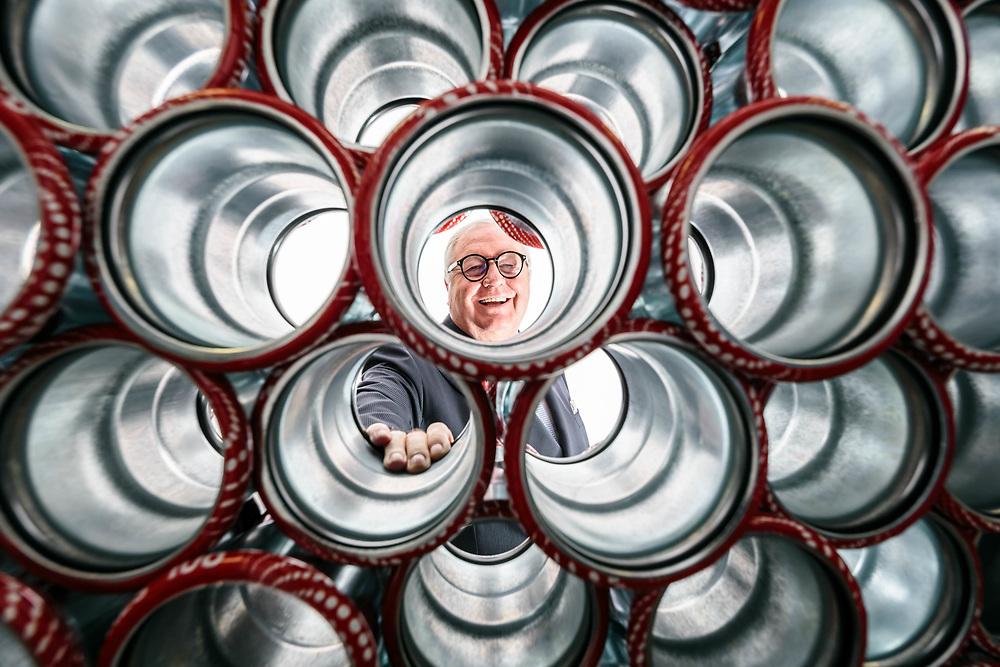 "19 OCT 2016 - Marcaria (MN) - ""Raccorderie Metalliche"": Pierluigi Ceccardi. :-: Marcaria, Italy - Pierluigi Ceccardi, CEO of ""Raccorderie Metalliche""."