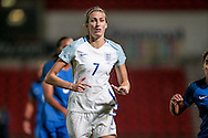 Jill Scott (England) during the International Friendly match between England Women and France Women at the Keepmoat Stadium, Doncaster, England on 21 October 2016. Photo by Mark P Doherty.