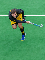 BLOEMENDAAL  - Austin Smith (Den Bosch)   tijdens de oefenwedstrijd Bloemendaal-Den Bosch (m) .  COPYRIGHT KOEN SUYK