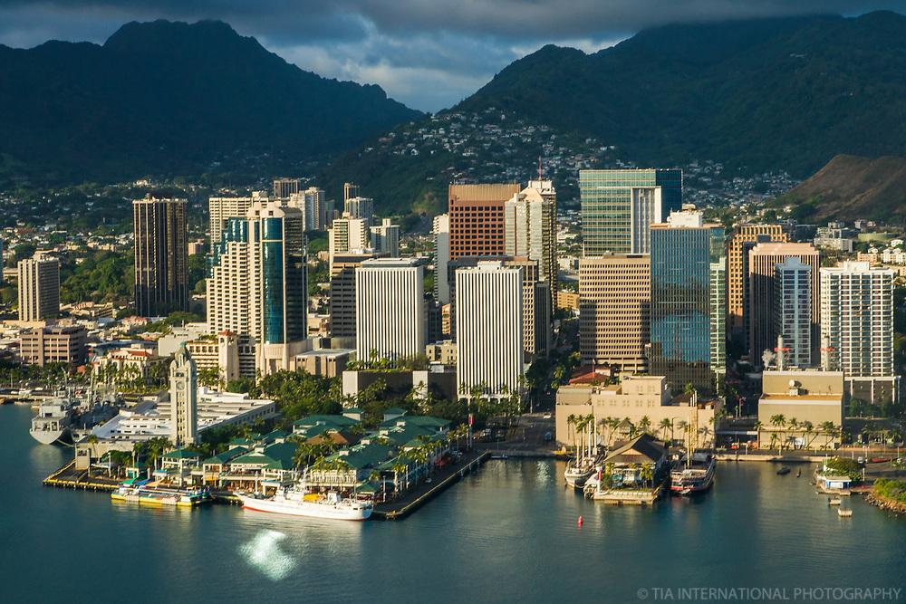 Downtown Honolulu Skyline