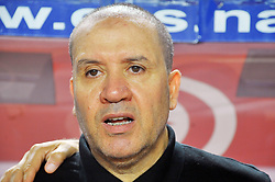 September 1, 2017 - Tunis, Tunisia - Nabil Maaloul coach of Tunisia during the qualifying match for the World Cup Russia 2018 between Tunisia and the Democratic Republic of Congo (RD Congo) at the Rades stadium in Tunis. (Credit Image: © Chokri Mahjoub via ZUMA Wire)