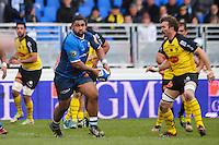 Paea Faanunu - 03.01.2015 - Castres / La Rochelle - 15eme journee de Top 14 - <br />Photo : Laurent Frezouls / Icon Sport
